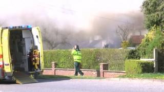 Bottesford cottage fire