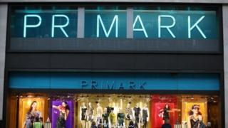 Primark store in central London