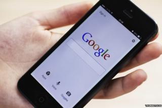 Google on mobile