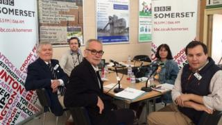 BBC Somerset election debate: 21st April 2015