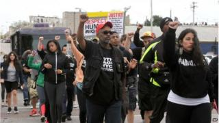 Protests in Baltimore