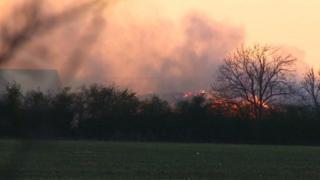 Colmworth fire