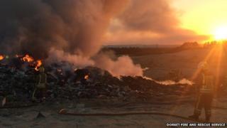 Viridor's landfill site at Trigon Quarry