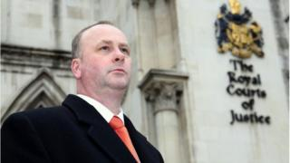 Barry Beavis outside the court of appeal