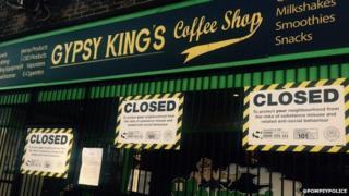 Gypsy King's closed