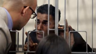 Mohammed Ali Malek in Catania court, Italy, on 24 April 2015