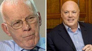 Sir Ian Wood (left) and Jim McColl are two Scottish billionaires on the Sunday Times list