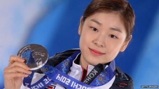 Olympic skater Kim Yuna