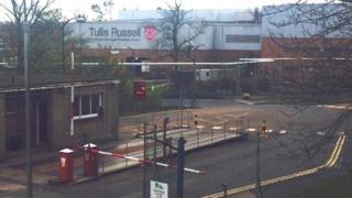 Tullis Russell factory, Markinch