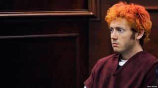 James Holmes with orange hair