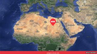 A what3words map