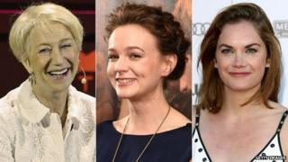 Dame Helen Mirren, Carey Mulligan and Ruth Wilson