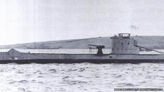 Bridgend submarine