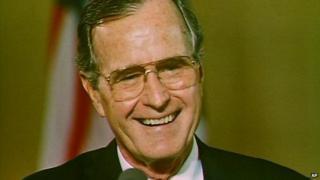 President George Bush in 1989