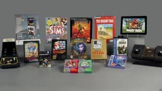 A selection of video games from the World Video Game Hall of Fame shortlist.