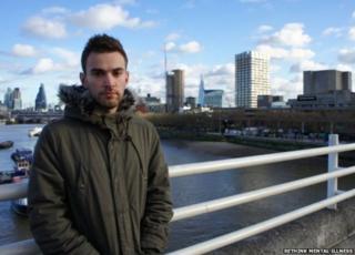 Jonny on Waterloo Bridge