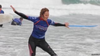 King Surf student