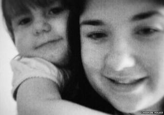 Ceri Linden and daughter Bethan