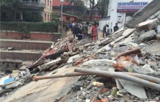 Kathmandu, Nepal earthquake