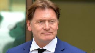 Eric Joyce leaves Westminster Magistrates' Court