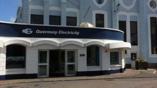 Guernsey Electricity showroom and building