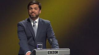 Stephen Crabb at BBC Wales Report debate