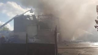 Holbrook Lane fire
