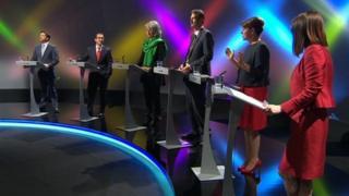 Welsh leaders' BBC TV debate