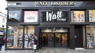 Watt Brothers store in Glasgow