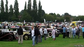 People at Coventry's Festival of Motoring