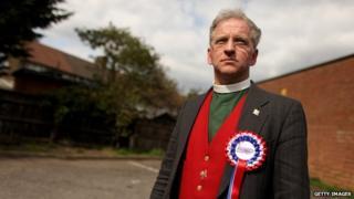 Reverend Robert West in Dagenham in April 2010