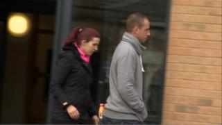 Amelia Caller outside Lincoln Magistrates Court