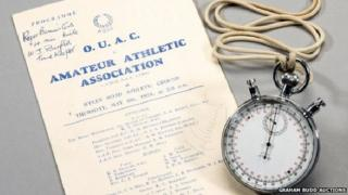 Roger Bannister stopwatch
