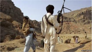 Rebels in Balochistan (picture from 2006)