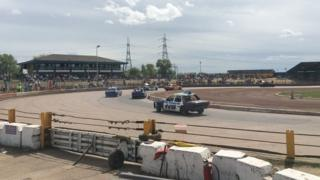 Thurrock stock racing track