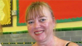 Karin Williams on her return to Rhoose Primary School