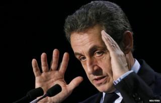 File pic Nicolas Sarkozy