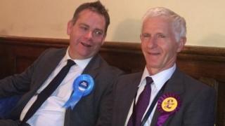 Nigel Adams and Colin Heath