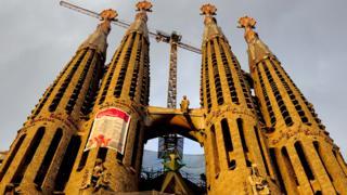 Towers of the Sagrada Familia (2010)
