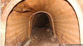 Moffat OB tunnel