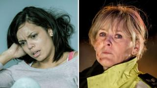 Georgina Campbell and Sarah Lancashire