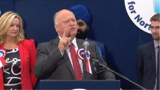 DUP MP David Simpson made the allegations after he was re-elected as MP for Upper Bann last week