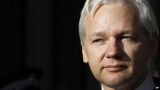 File photo of WikiLeaks founder Julian Assange from December 2011