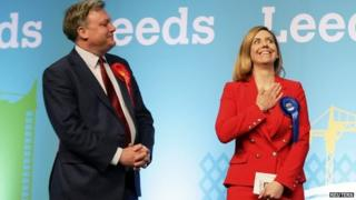 Ed Balls and Andrea Jenkyns