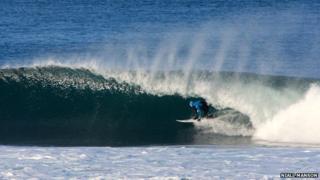 Surfer Mark Boyd