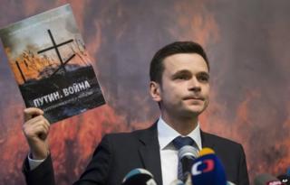 Ilya Yashin with the report: Putin. War