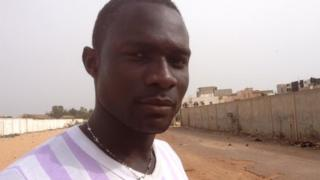 Saliou Ndiaye says he would never have made the journey if he had know what lay ahead