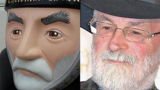 Baron and Sir Terry Pratchett