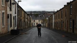 unemployed man in Accrington