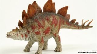 Stegosaurus dinosaur model